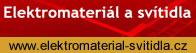 Elektro materiál a svítidla