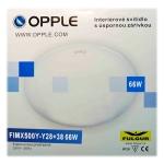 OPPLE FIMX 500-Y01/6500 přisazené, interiérové, úsporné svítidlo
